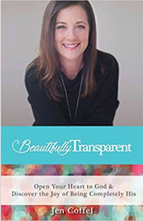 Jen Coffel, Beautifully Transparent Book Cover