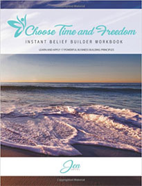 Jen Coffel, Choose Time & Freedom Book Cover